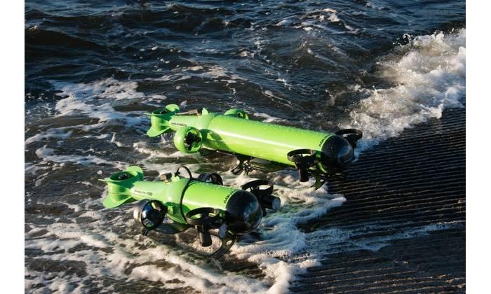 Two of Aquabotix's commercial grade UUVs – Endura and Hybrid (Photo: Aquabotix)