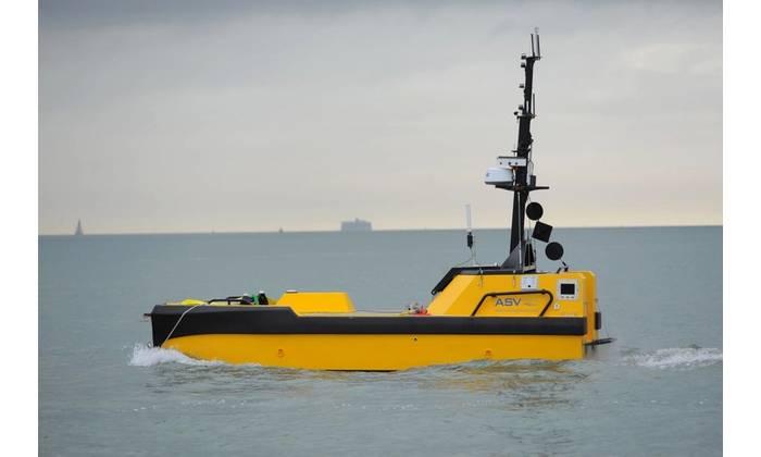L3 ASV's C-Worker 7 is a multi-role work class autonomous vessel suitable for offshore and coastal tasks. (Photo: Business Wire)