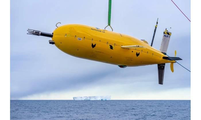 Autonomous underwater vehicle Boaty McBoatface (Photo: NOC)