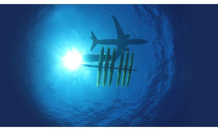 Boeing and Liquid Robotics have collaborated on extensive integration on the Sensor Hosting Autonomous Remote Craft (SHARC), a version of the Wave Glider, since 2014. The SHARC, integrated with Boeing's advanced sensors, connects intelligence, surveillance and reconnaissance capabilities ranging from satellites to manned and unmanned aircraft to sub-surface crafts. (Photo: Liquid Robotics)