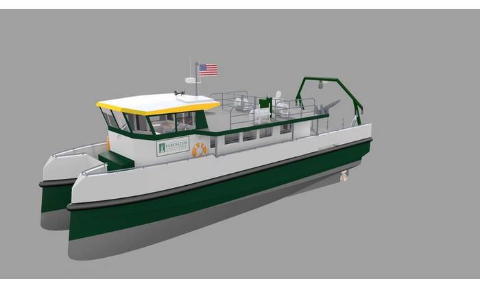 Chartwell Marine selected to design and specify build for new low emission university research vessel, in collaboration with BAE Systems and Derecktor Shipyards. Image: Chartwell
