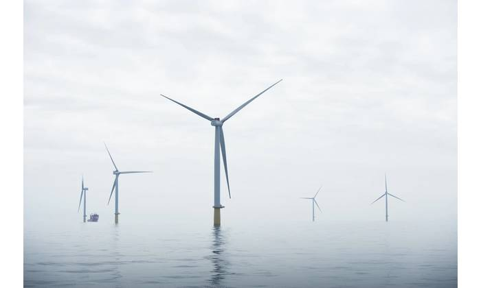 Dudgeon offshore wind farm (Photo: Ole Jørgen Bratland / Statoil)