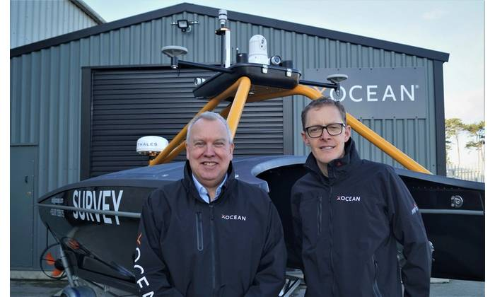 Duncan Mallace, newly appointed Chief Strategy Officer, XOCEAN and James Ives, CEO, XOCEAN. (Photo: XOCEAN)