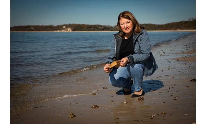 Ellen Pikitch, PhD, Endowed Professor of Ocean Conservation Science at SoMAS. Photo Credit: Stony Brook University