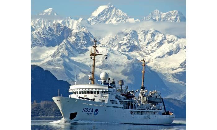 File photo: NOAA Ship Fairweather underway in Alaska (Photo: NOAA)