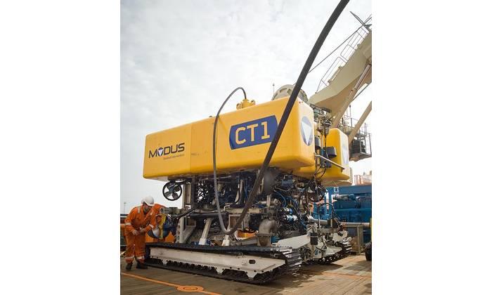 Modus CT-1 trenching vehicle (Photo: Modus)