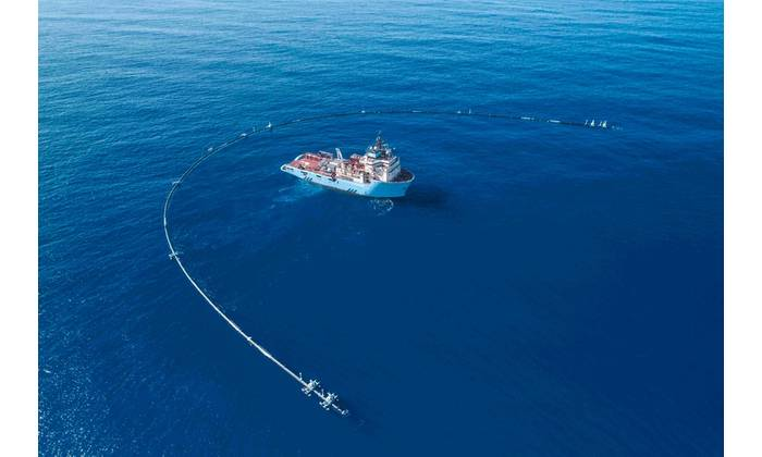 (Photo: The Ocean Cleanup)
