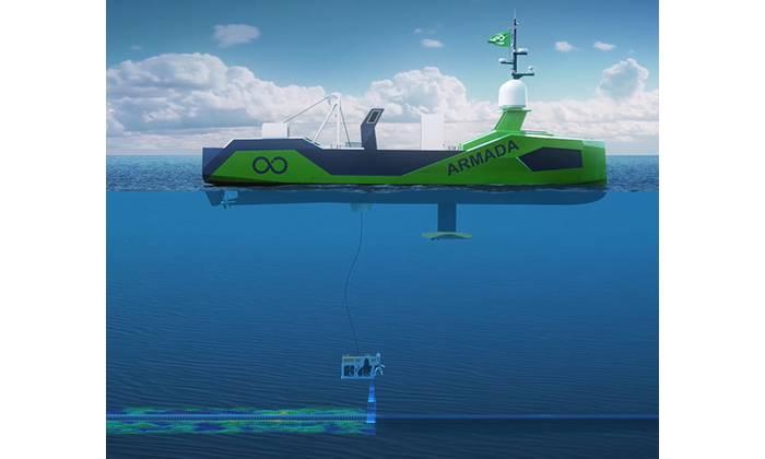 The Saab Seaeye Leopard is suited for unmanned service vessel applications. Image: Saab Seaeye/Ocean Infinity