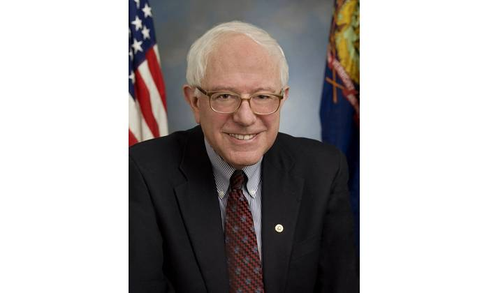 US Senator Bernie Sanders.  Credit: US Senate website.