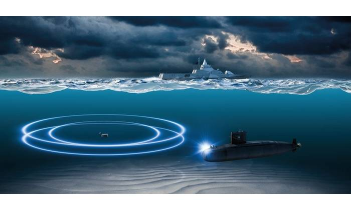 The ST2400 VDS is a Varial Depth Sonar for Anti-Submarine Warfare applications (Photo: Kongsberg Maritime)