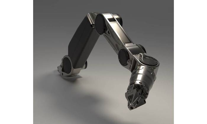 The world's first seven-function all-electric work-class manipulator - designed by Saab Seaeye