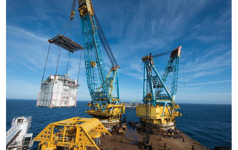 "CAPEX returns:  ""By 2016 oilfield  investments will  begin a four-year spike""  photo: Oyvind Hagen, Statoil"