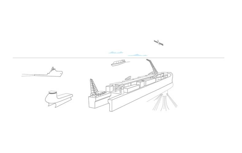 DNV GL has developed a new unmanned floating LNG concept – dubbed 'Solitude'