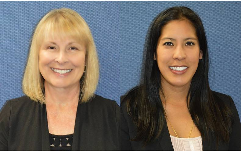 Laura Powell (left) and Penny Nuntavong (right). photos courtesy of BIRNS