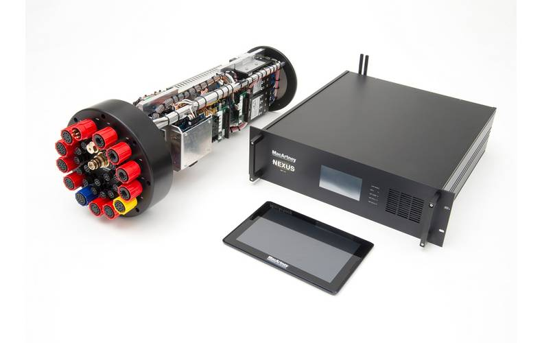 The Nexus MK VIII multiplexer from the MacArtney Group (photo courtesy of the MacArtney Group)