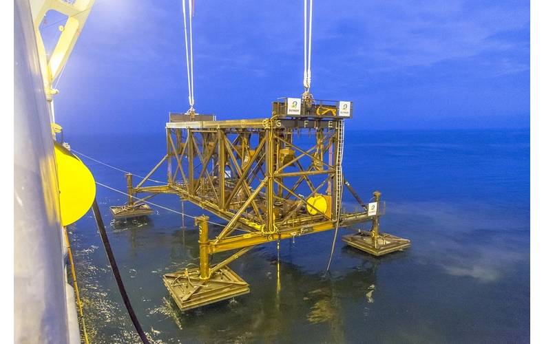 Template recovery following successful piling