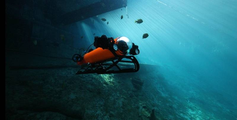Aquabotix's Integra AUV/ROV is designed for multiple underwater missions across several sectors. Photo: Aquabotix