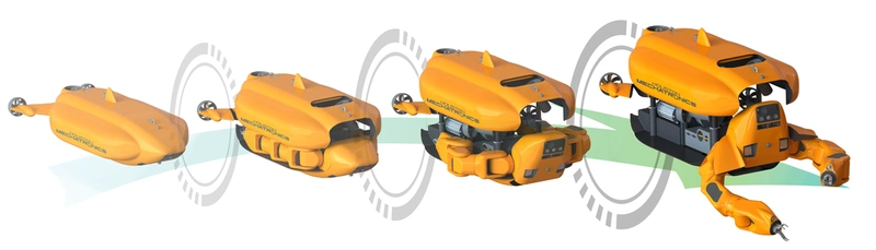 Aquanaut is able to transform from an AUV to an ROV (Photo: Houston Mechatronics)