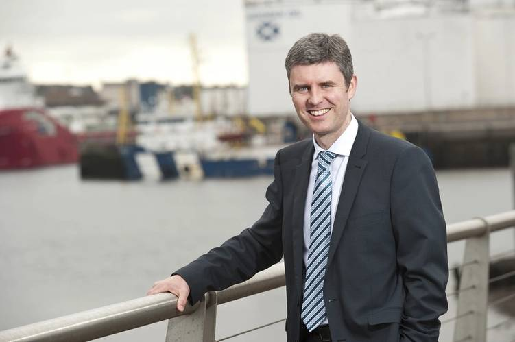 Barry Macleod, managing director Photo Bibby Offshore