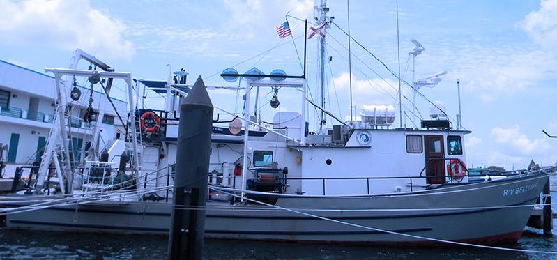 R/V Bellows, originally constructed in 1968. (Photo: Boksa Marine Design)