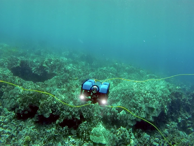 Blue ROV 2 (Photo: Blue Robotics)