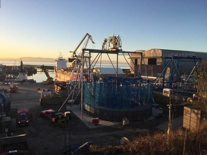 Briggs Marine's subsea cable depot at Burntisland (Photo: Briggs Marine)