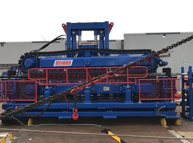 One of the cable tensioners added to Briggs' range of equipment (Photo: Briggs Marine)