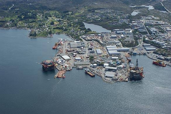 CCB is considered to be the Logistics hub for the  North Sea's Tampen fields (Photo courtesy of CCB)