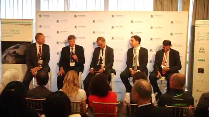 """Corporate leaders discuss """"The Future of Spaceship Earth"""" at the UN in New York. (Photo: G. Trauthwein)"""