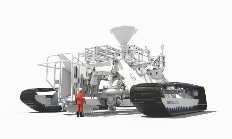 DeepOcean's T3200 underwater trenching system. (Photo: DeepOcean)