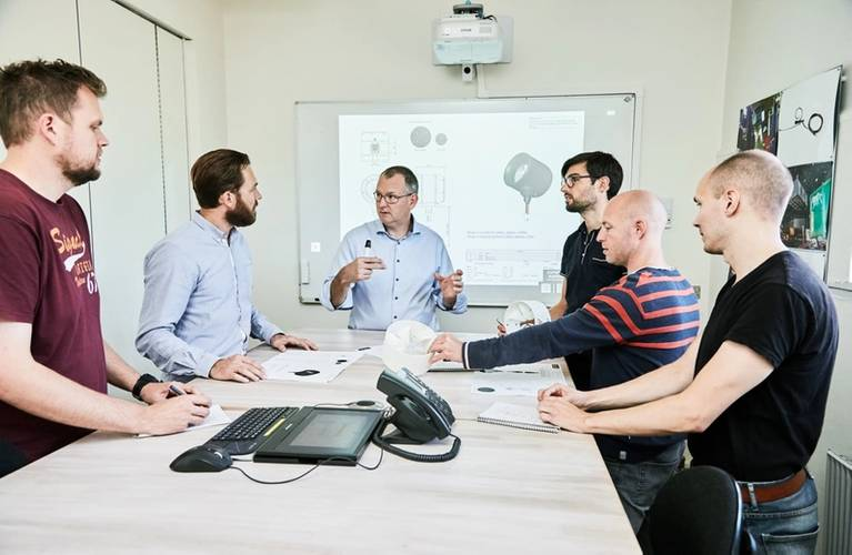 Development team meeting – all details are analyzed and discussed thoroughly and nothing is left to chance (Photo: Copenhagen Subsea)