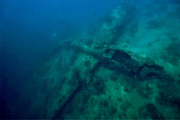Documented B-52 Bomber (Photo: Project Recover)