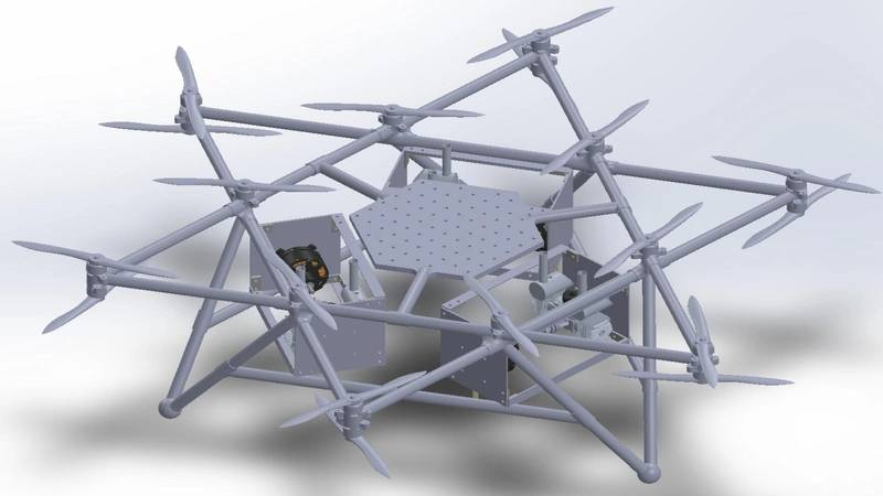 Duke's High Capacity Drones and Drop Pods