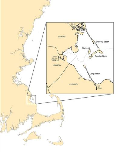 The Duxbury, Kingston and Plymouth (DKP) embayment. Credit: Massachusetts Division of Marine Fisheries