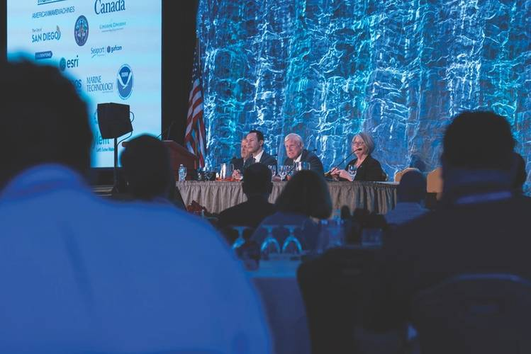 "The event in San Diego has grown from two events over two days to seven events over five days of BlueTech Week 2017 with a theme of ""Smart Ocean, Smart Water."" (Photo: The Maritime Alliance)"