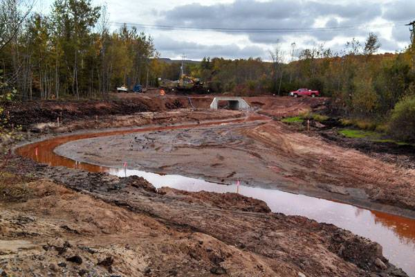 Fall 2013: Underway: Phase Two of Partridge Creek at south Washington St. (Photo: EPA)