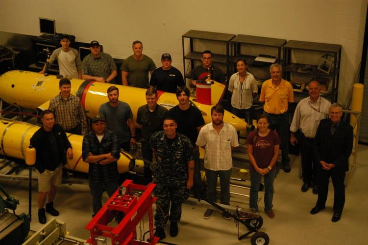 Fifteen students began classes May 1, 2017, at The University of Southern Mississippi, where they are expected to be the first class in the nation to earn a certification in Unmanned Maritime Systems. (Photo: U.S. Navy)