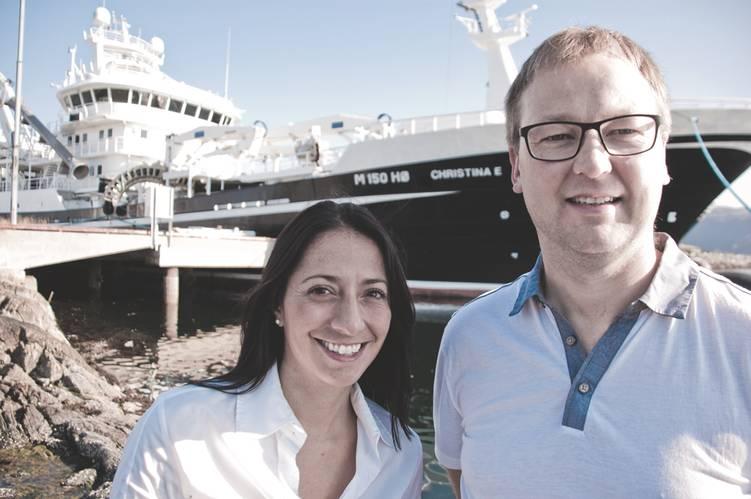 Flexible Partnership: Captains Rita Saevik and Espen Ervik of Ervik & Saevik. (Photo: William Stoichevski)
