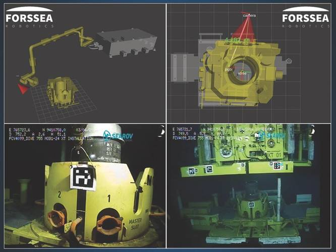 Forssea is applying computer vision and machine learning to subsea operations easier. (Image: Forssea)
