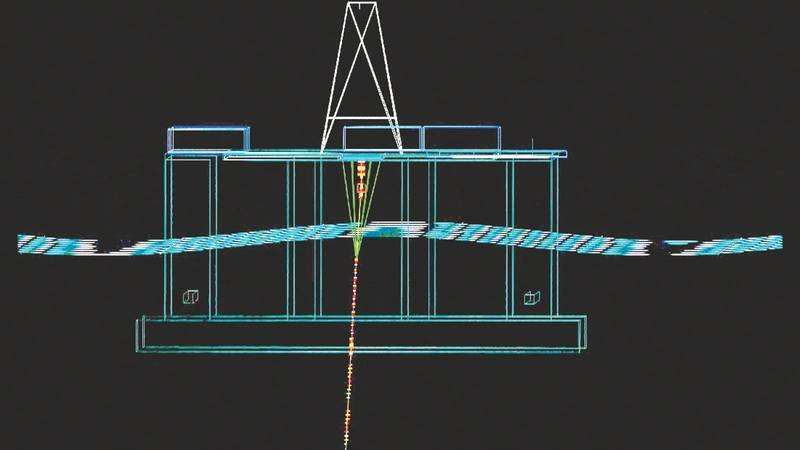 Global Finite Element Analysis of drilling riser. (Image: Trelleborg)