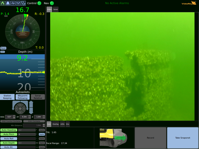 Greensea Workspace displays Mission Specialist video of the General Butler, a historic shipwreck in Lake Champlain (Photo: Greensea)