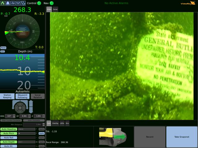 Greensea Workspace displays Mission Specialist video of the General Butler's historic designation. (Photo: Greensea)