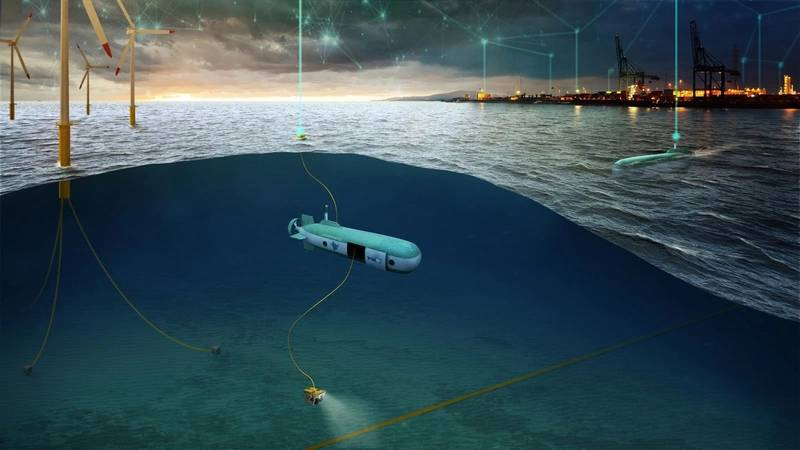 HonuWorx vehicle delivery submersible concept. Image from HonuWorx.