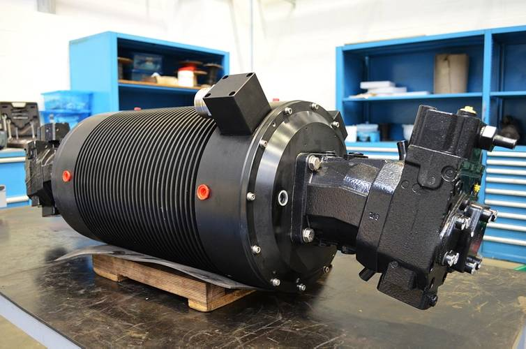 SMD Hydraulic Power Unit (Photo: Sulzer)