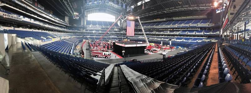 Inside Lucas Oil Stadium (Photo: JW Fishers)