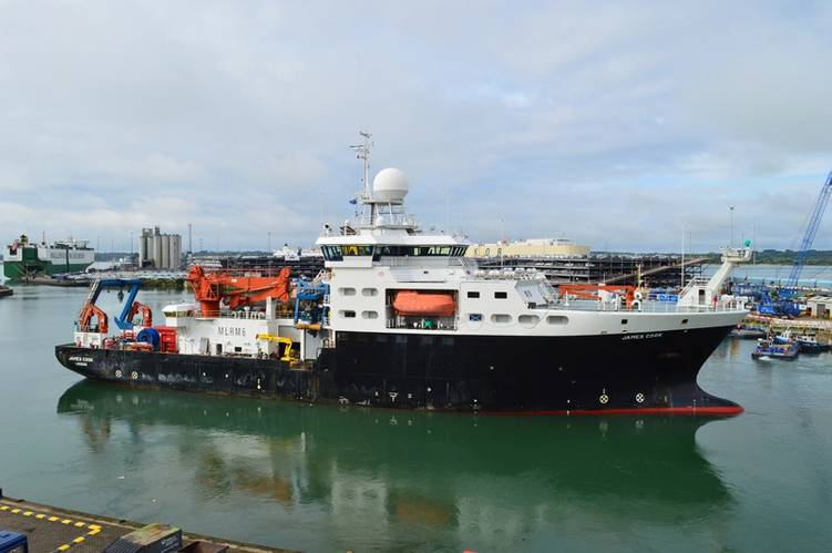 RRS James Cook (Photo: NOC)