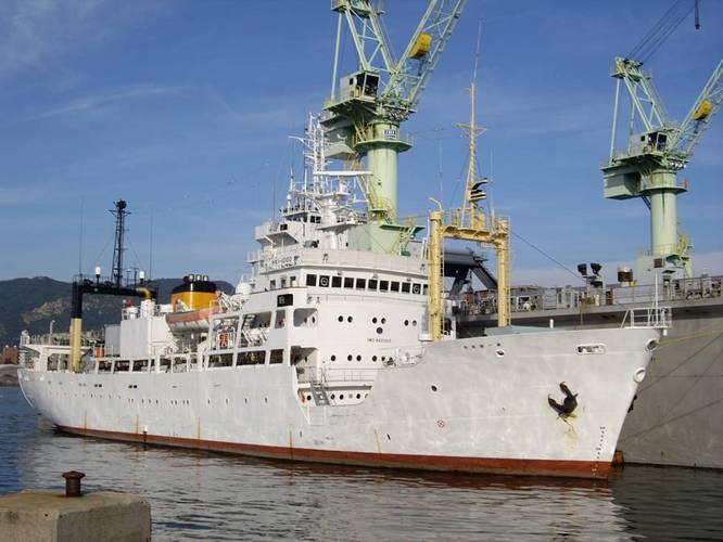 Kaiyo operates its own ships for scientific research (Photo: Saab Seaeye)