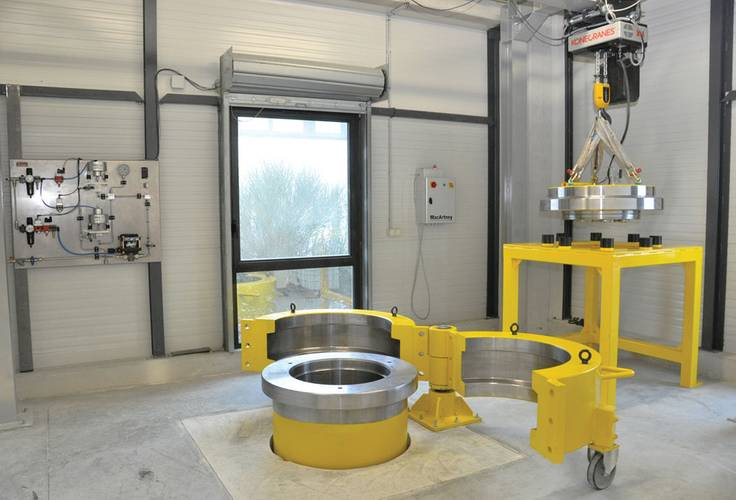 MacArtney France's new Pressure Test Facility.