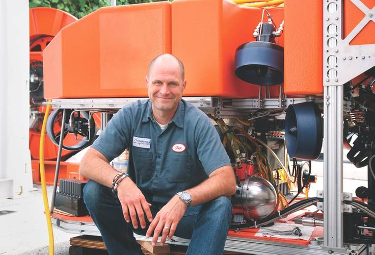Man and machine: Ben Kinnaman and his Greensea Systems team are determined to deliver the standard operating platform for the marine industry. (Photo: Greensea)