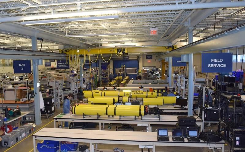 The manufacturing floor. Photo: HII